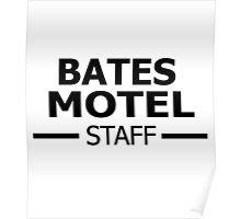 Bates Motel Staff Poster