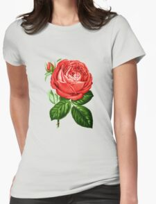 Peony (1876) Womens Fitted T-Shirt