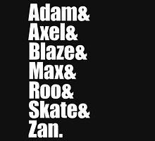 Adam&Axel&Blaze&Max&Roo&Skate&Zan v2 Unisex T-Shirt