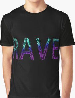 RAVE COLORS Graphic T-Shirt