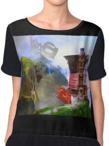 Mad Hatter - Hatters House Chiffon Top