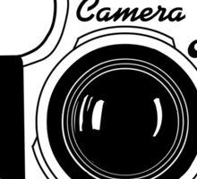 Classic Camera Sticker