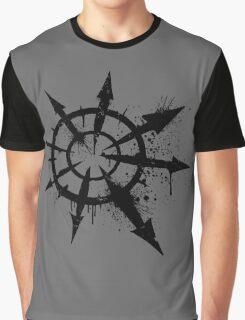 Tag of Chaos (black) Graphic T-Shirt