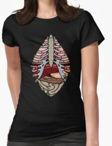 Anatomy T-shirt Womens Fitted T-Shirt