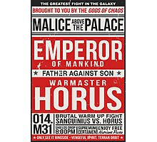 Malice Above The Palace Photographic Print
