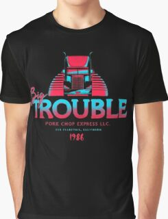 Big Trouble Trucking Graphic T-Shirt