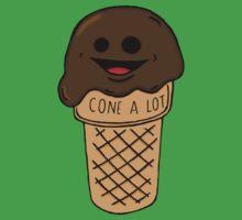 Chocolate Jim the Ice Cream Cone Baby Tee