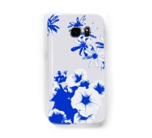 Blue Wildflowers Samsung Galaxy Case/Skin