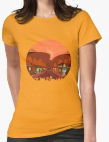 Alpine Ridge Road Womens Fitted T-Shirt