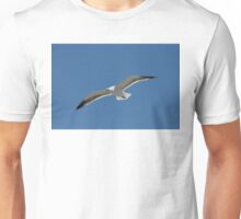 Seagull Gliding into the Wind Unisex T-Shirt