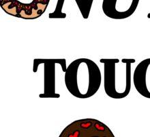 Donut touch Sticker