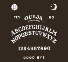 Ouija You (white print) by adamcampen