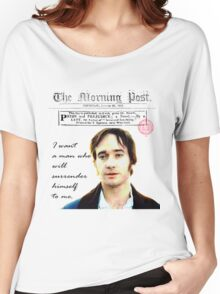 Mr. Darcy Pride & Prejudice Women's Relaxed Fit T-Shirt