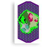 Pixel Invader Canvas Print