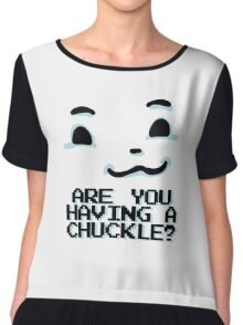 TEMMIE - Are You Having A Chuckle? Chiffon Top