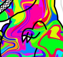 Colorful Dinosaur Sticker