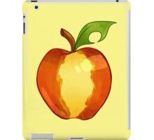 Striped Apple (no bite) Parody iPad Case/Skin