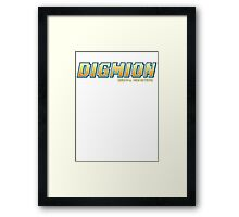 Digimon Framed Print