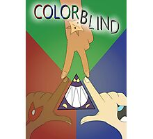 Colorblind Print Photographic Print
