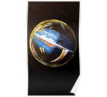 Earth Bubble Poster