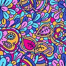 - Abstract fruits pattern 2 - by Losenko  Mila