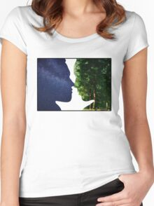 Earth and Sky Women's Fitted Scoop T-Shirt