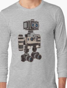 Camera Bot 6000 Long Sleeve T-Shirt