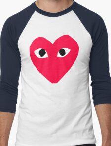 CDG Red Men's Baseball ¾ T-Shirt