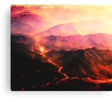 Beautiful Disaster Canvas Print