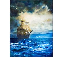 Sailing Photographic Print