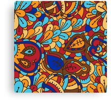 - Abstract fruits pattern 3 - Canvas Print