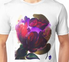 Purple and Gold Poppies Maybe? Unisex T-Shirt