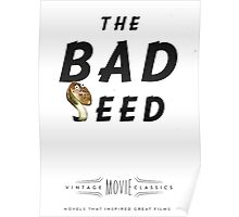 Retro Movie The Bad Seed Poster