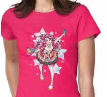 Madeline Hatter Womens Fitted T-Shirt