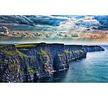 Ireland - Cliffs Photographic Print