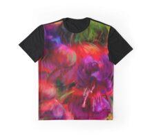 Fuchsia Excitement Graphic T-Shirt