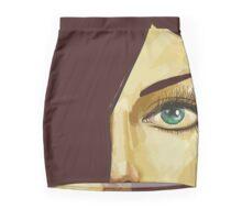Red hair green eyes Mini Skirt