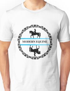 Modern equine fancy logo Unisex T-Shirt