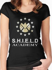 Shield Academy star Women's Fitted Scoop T-Shirt