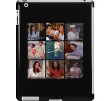 Monica Geller Quotes Collage #1 iPad Case/Skin