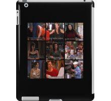 Monica Geller Quotes Collage #2 iPad Case/Skin