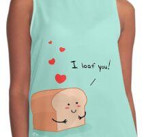 I loaf you! Contrast Tank