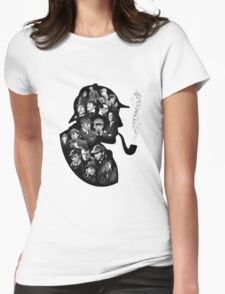 Sherlock Holmes - Detective Womens Fitted T-Shirt