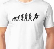 Evolution Of Man And Soldier Unisex T-Shirt