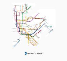 new york subway diagram Unisex T-Shirt
