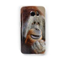 The Thinker - Sumatran Orangutan  Samsung Galaxy Case/Skin