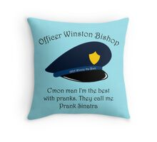 Winston Bishop Throw Pillow