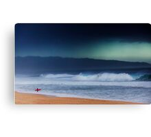Pipeline Surfer 13 Canvas Print