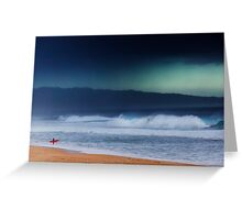 Pipeline Surfer 13 Greeting Card