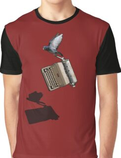 Carrier Pigeon Graphic T-Shirt